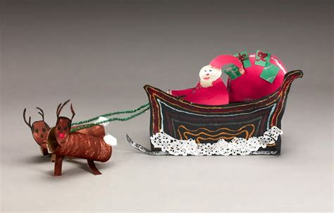 santa on the sleigh kids crafts santa s sleigh crayola au