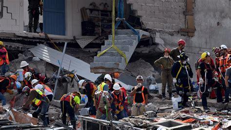 earthquake oaxaca new earthquake shakes jittery mexico la times
