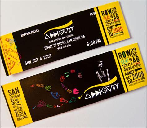 creative concert ticket design www pixshark com images