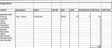 free job cost worksheet template costing spreadsheet