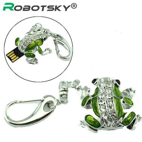 And Sticj by Free Shipping Cute Frog Usb Flash Drive 32gb Diamond Pen