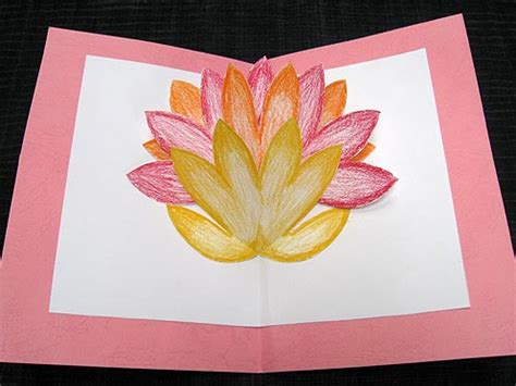 Fiy Mothers Day Pop Up Card Template by Pop Up Flower Card For S Day Diy Family