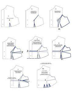 zamkoff pattern making sewing darts on pinterest darts dart manipulation and