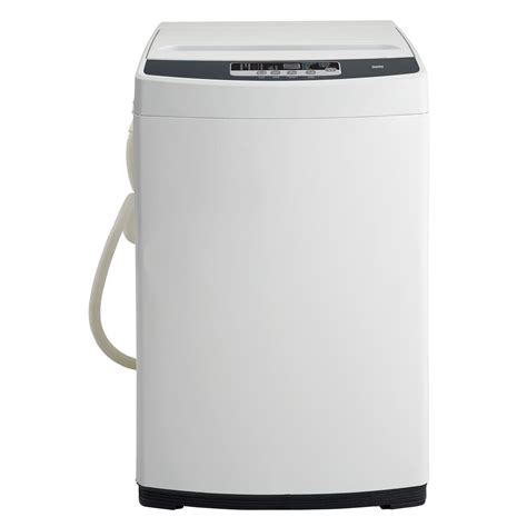 danby 1 3 cu ft compact top load washer in white with
