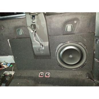 ford    supercrew cab   jl audio tw bts subwoofer box