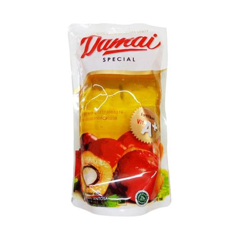 Minyak Goreng Kemasan Gelas jual damai nabati minyak goreng 1000 ml kemasan pouch harga kualitas terjamin