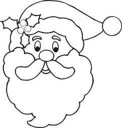 santa coloring sheets free coloring pages of santa