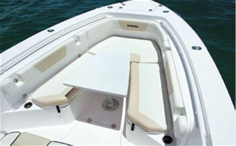 bench seat for center console boat 325 center console everglades boats