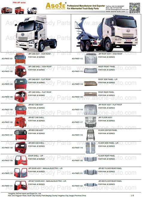 sapiensman car parts auto parts truck parts supplies and accessories faw j6 heavy truck cabin body parts and accessories asone auto body parts