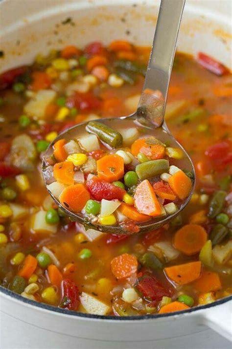 25 best vegetarian vegetable soup ideas on