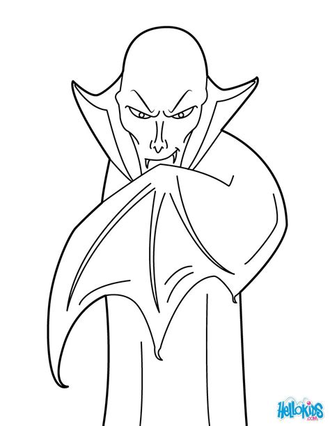 count dracula coloring pages hellokids com