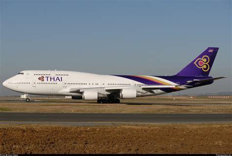 thai airways thai airways royal first boeing 747 400 lhr bkk