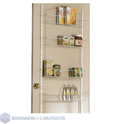 18 quot wide 8 shelf kitchen indoor pantry door rack 400352 ebay