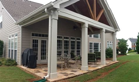 covered porch patio covers nashville patios covers