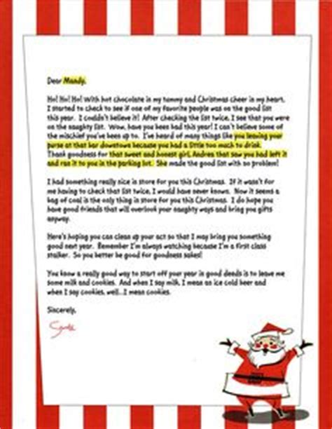free printable letter from santa for adults 1000 images about christmas letters on pinterest letter
