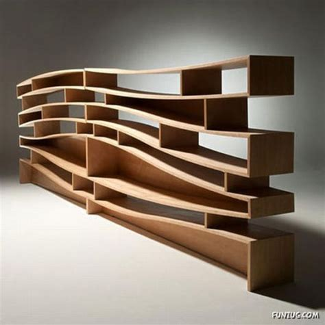 unique and creative bookshelves funzug