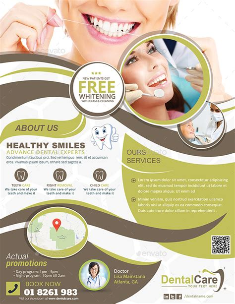 15 dental flyer psd templates free premium designyep