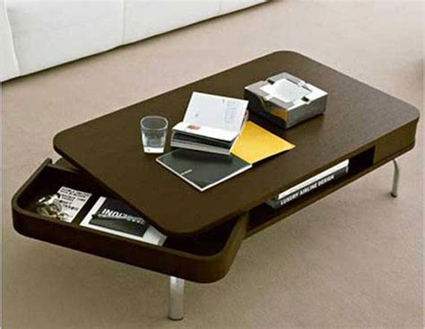 Contemporary Coffee Table With Storage Contemporary Storage Coffee Table