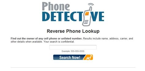Phone Number Lookup Reviews Phone Lookup Page Preview