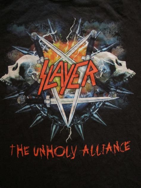 Unholy Alliance recall unholy alliance tour slayer and more