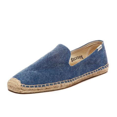 mens canvas slippers soludos mens slipper washed canvas in blue for