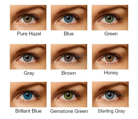 acuvue contacts color acuvue contact lenses color chart air optix colors