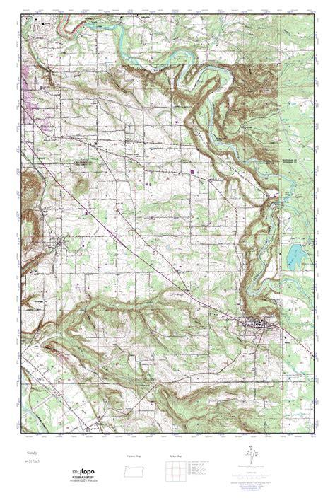topographical map oregon mytopo oregon usgs topo map
