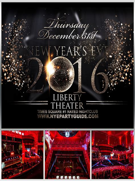new year events 2016 new years 2016 at liberty theater in times square new