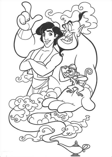 Free Printable Aladdin Coloring Pages For Kids Aladin Coloring Pages