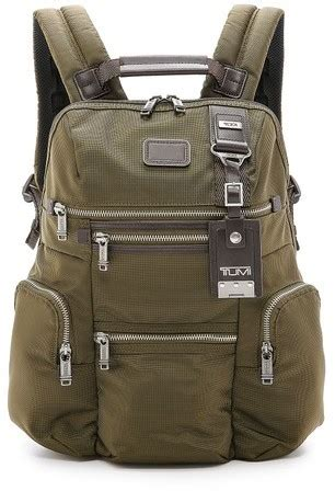 canvas knox olive canvas backpack tumi alpha bravo knox backpack
