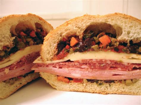 Wich Of The Week Muffaletta wich of the week muffuletta popsugar food