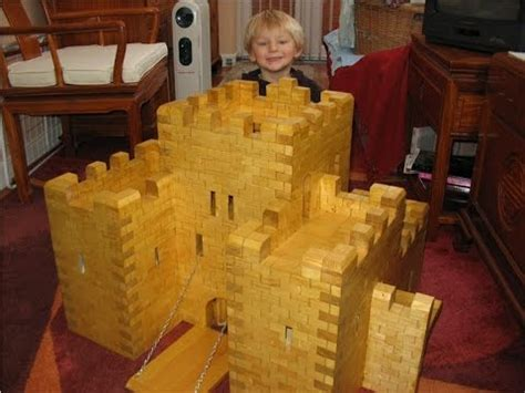 toy wooden medieval castle youtube