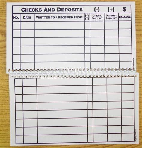check registers large print check register printable budgeting