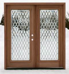 Exterior double doors full lite double doors
