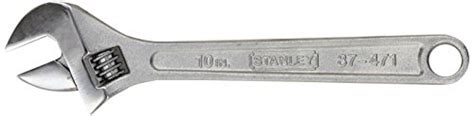 Dijamin Stanley Adjustable Wrench 4 Inch 87 430 stanley 87 471 10 inch adjustable wrench 076174874716 toolfanatic