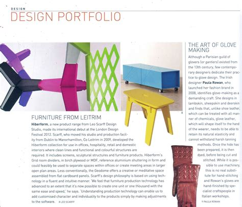 irish sunday times business section hiberform spatial division furniture products review