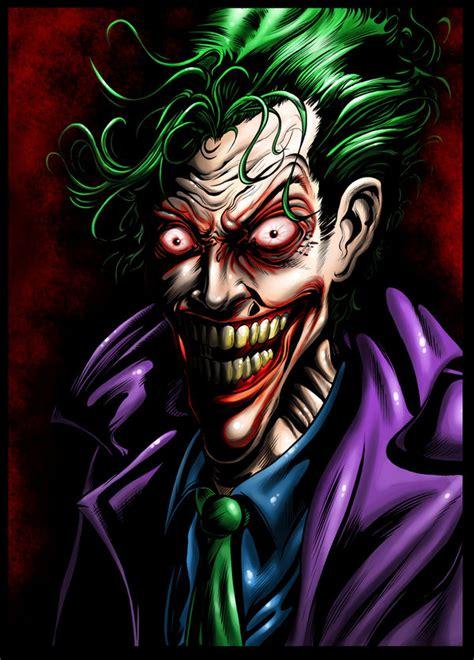 the joker colors joker colors by ashasylum on deviantart