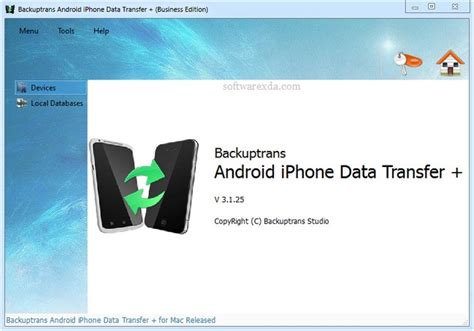 transfer files from android to iphone backuptrans android iphone data transfer plus 3 1 28 softwarexda