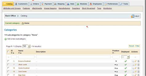 tutorial bikin website toko online tutorial prestashop add produk pada kategori tertentu