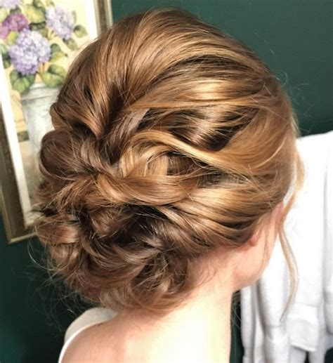 Easy Bridesmaid Hairstyles For Medium Length Hair by 27 Trendy Updo Ideas For Medium Length Hair