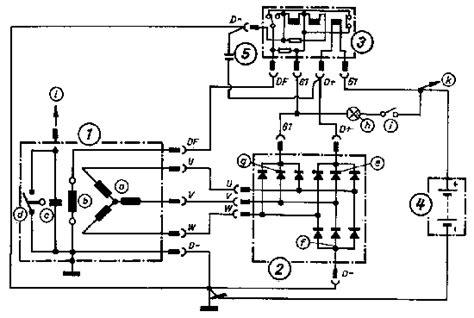 alternator diodes diagram mz alternator charging system diagram