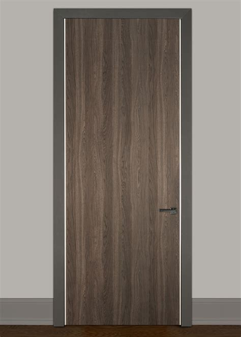 modern wood door modern interior doors wood veneer solid core custom by