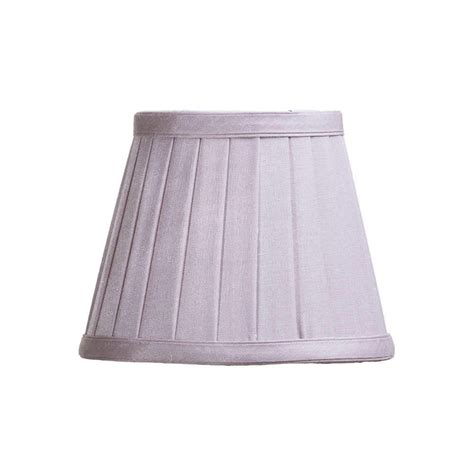 5 inch l shades pleated 5 5 inch candle shade lavender from litecraft