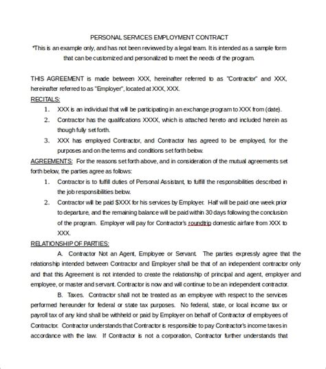 14 Sle Service Contract Templates To Download Sle Templates Services Contract Template