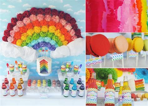rainbow themed events rainbow party a colorful spectrum of inspiration