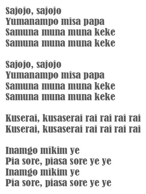 download lagu yamko rambe yamko budaya adat indonesia lagu lagu papua lirik apuse