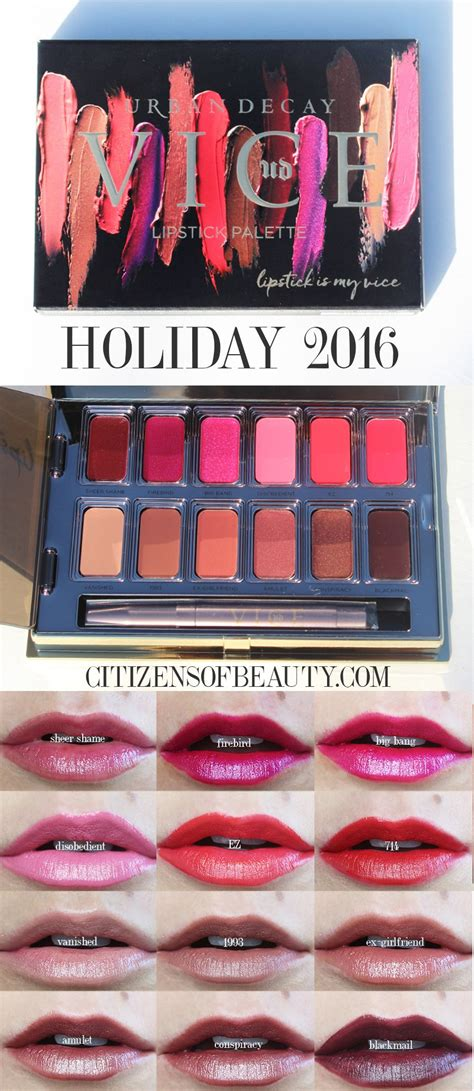 Get A Fashionable Lip Palette For Fall 2 by Decay Vice Lipstick Palettes In Junkie And