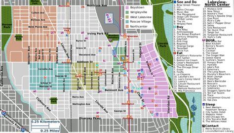 chicago map lakeview chicago map lakeview
