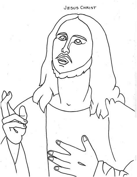 coloring book pages of jesus free printable jesus coloring pages for