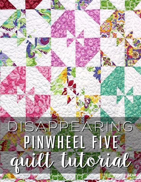 quilt pattern disappearing pinwheel new friday tutorial the disappearing pinwheel five quilt